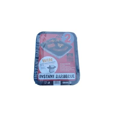 Instant Lighting Disposable BBQ