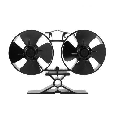 Twin Blade Stove top fan 138mm x 205mm wide