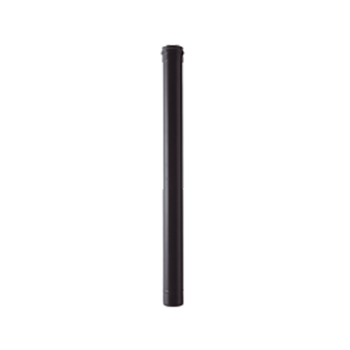 80mm single wall flue pipe