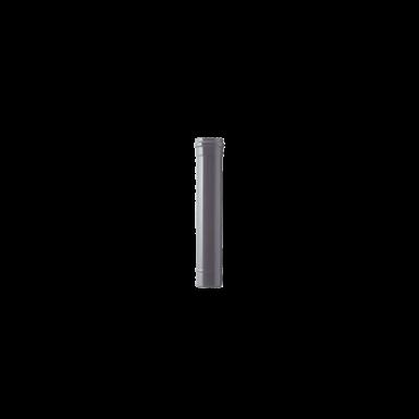80mm single wall flue pipe 500mm