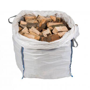 Kiln Dried Logs Luxury Bulk Bag 1 Cubic Metre