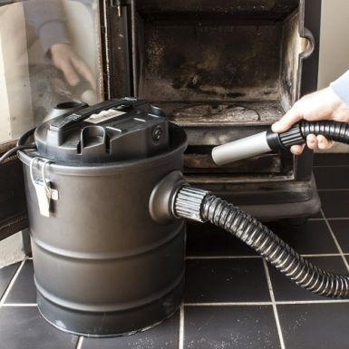 Domovoi Ash Vac 800W 15 Litre (Black)