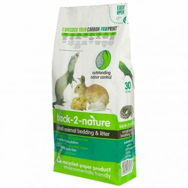 Back 2 Nature Small Animal and Bird Bedding and Litter 20 Litre