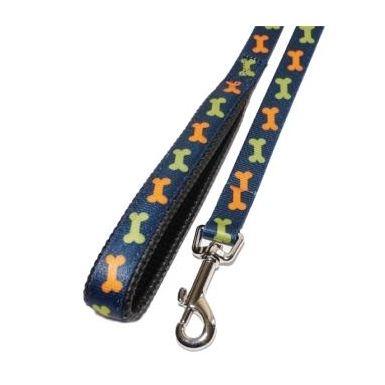 Rosewood Nylon Bone Dog Lead 102 x 2cm