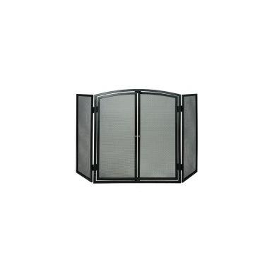 3 Panel Firescreen with Doors