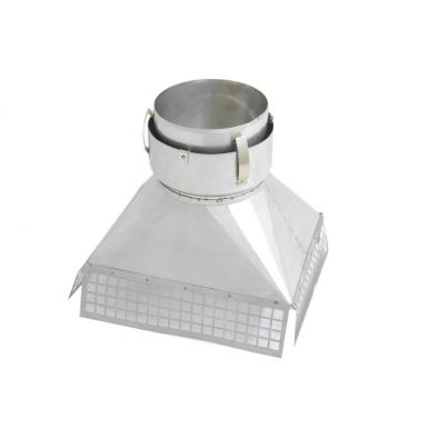 Gather Adaptor For Multi Fuel Flexible Liner From 300mm x 300mm