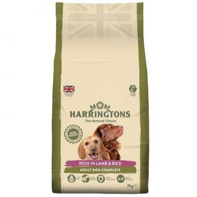 Harringtons Lamb & Rice Dog Food 2kg