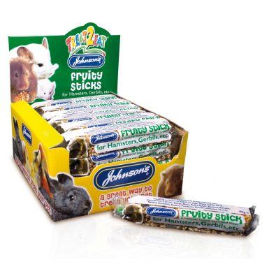 JVP Hamster & Gerbil Fruity Sticks (FOR 1 item)box not included illustration only