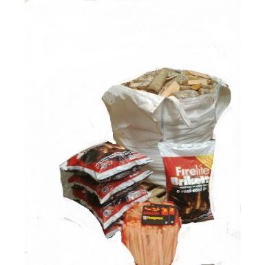 Wood Coal Luxury Winter Warmer Pack
