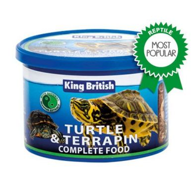 KING BRITISH* TURTLE & TERRAPIN COMPLETE FOOD FOR TURTLES AND TERRAPINS