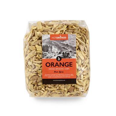 ORANGE WOOD CHIPS