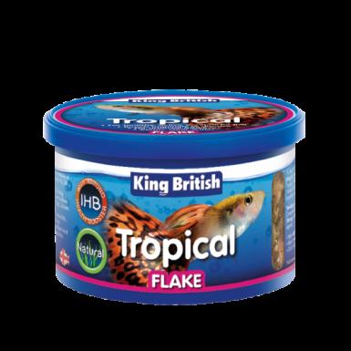 King British Natural Tropical Flake (with Ihb)