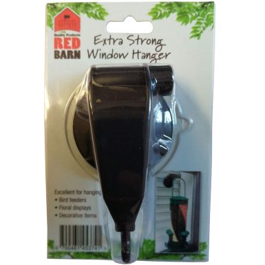 Red Barn Universal Window Suction Cup Holder For Bird Feeders